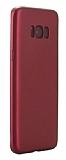 Eiroo Body Thin Samsung Galaxy S8 Plus 360 Derece Koruma Kırmızı Rubber Kılıf