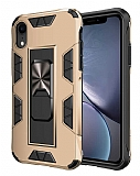 Eiroo Built iPhone XR Ultra Koruma Gold Kılıf