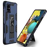 Eiroo Built Samsung Galaxy A71 Ultra Koruma Lacivert Kılıf