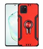 Eiroo Car Magnet Samsung Galaxy Note 10 Lite Ultra Koruma Kırmızı Kılıf