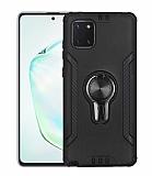 Eiroo Car Magnet Samsung Galaxy Note 10 Lite Ultra Koruma Siyah Kılıf