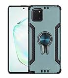 Eiroo Car Magnet Samsung Galaxy Note 10 Lite Ultra Koruma Sarı Kılıf