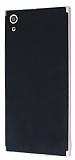Eiroo Carbon Hybrid Sony Xperia XA Ultra Rose Gold Kenarlı Karbon Siyah Silikon Kılıf