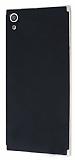 Eiroo Carbon Hybrid Sony Xperia XA Ultra Gold Kenarlı Karbon Siyah Silikon Kılıf