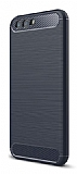 Eiroo Carbon Shield Asus ZenFone 4 ZE554KL Ultra Koruma Lacivert Kılıf