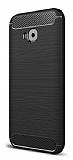 Eiroo Carbon Shield Asus ZenFone 4 Selfie ZD553KL Ultra Koruma Siyah Kılıf