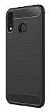 Eiroo Carbon Shield Asus ZenFone 5 ZE620KL / 5z ZS620KL Ultra Koruma Siyah Kılıf