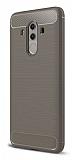 Eiroo Carbon Shield Huawei Mate 10 Pro Ultra Koruma Gri Kılıf