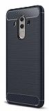 Eiroo Carbon Shield Huawei Mate 10 Pro Ultra Koruma Lacivert Kılıf