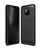 Eiroo Carbon Shield Huawei Mate 20 Pro Ultra Koruma Siyah Kılıf