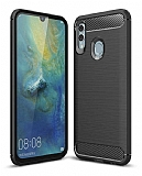 Eiroo Carbon Shield Huawei P Smart 2019 Ultra Koruma Siyah Kılıf