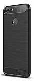 Eiroo Carbon Shield Huawei P Smart Ultra Koruma Siyah Kılıf