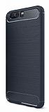 Eiroo Carbon Shield Huawei P10 Plus Ultra Koruma Lacivert Kılıf