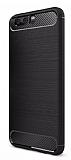 Eiroo Carbon Shield Huawei P10 Plus Ultra Koruma Siyah Kılıf