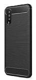 Eiroo Carbon Shield Huawei P20 Pro Ultra Koruma Siyah Kılıf