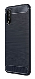 Eiroo Carbon Shield Huawei P20 Ultra Koruma Lacivert Kılıf