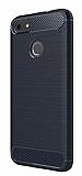 Eiroo Carbon Shield Huawei P9 Lite Mini Ultra Koruma Lacivert Kılıf