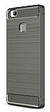 Eiroo Carbon Shield Huawei P9 Lite Ultra Koruma Gri Kılıf