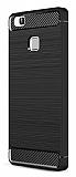 Eiroo Carbon Shield Huawei P9 Lite Ultra Koruma Siyah Kılıf