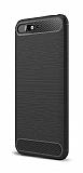 Eiroo Carbon Shield Huawei Y6 2018 Ultra Koruma Siyah Kılıf
