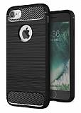 Eiroo Carbon Shield iPhone 7 Ultra Koruma Siyah Kılıf