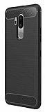 Eiroo Carbon Shield LG G7 ThinQ Ultra Koruma Siyah Kılıf