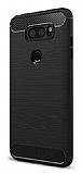 Eiroo Carbon Shield LG V30 Ultra Koruma Siyah Kılıf