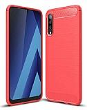 Eiroo Carbon Shield Samsung Galaxy A70 Ultra Koruma Kırmızı Kılıf