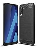 Eiroo Carbon Shield Samsung Galaxy A70 Ultra Koruma Siyah Kılıf