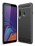 Eiroo Carbon Shield Samsung Galaxy A9 2018 Ultra Koruma Siyah Kılıf