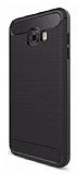 Eiroo Carbon Shield Samsung Galaxy C7 Pro Ultra Koruma Siyah Kılıf