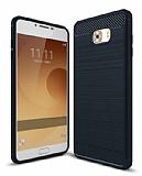 Eiroo Carbon Shield Samsung Galaxy C9 Pro Ultra Koruma Siyah Kılıf