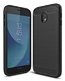 Eiroo Carbon Shield Samsung Galaxy J3 2017 Ultra Koruma Siyah Kılıf
