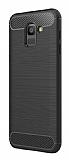 Eiroo Carbon Shield Samsung Galaxy J6 Ultra Koruma Siyah Kılıf