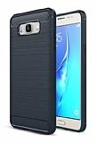 Eiroo Carbon Shield Samsung Galaxy J7 2016 Ultra Koruma Lacivert Kılıf