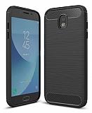 Eiroo Carbon Shield Samsung Galaxy J7 Pro 2017 Ultra Koruma Siyah Kılıf