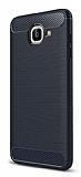 Eiroo Carbon Shield Samsung Galaxy J7 Max Ultra Koruma Lacivert Kılıf