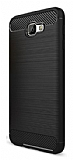 Eiroo Carbon Shield Samsung Galaxy J7 Prime Ultra Koruma Siyah Kılıf