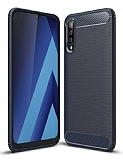 Eiroo Carbon Shield Samsung Galaxy M30 Ultra Koruma Lacivert Kılıf