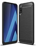 Eiroo Carbon Shield Samsung Galaxy M30 Ultra Koruma Siyah Kılıf