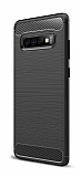 Eiroo Carbon Shield Samsung Galaxy S10 Plus Ultra Koruma Siyah Kılıf
