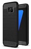 Eiroo Carbon Shield Samsung Galaxy S7 edge Ultra Koruma Siyah Kılıf