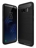 Eiroo Carbon Shield Samsung Galaxy S8 Plus Ultra Koruma Siyah Kılıf