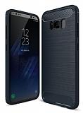 Eiroo Carbon Shield Samsung Galaxy S8 Ultra Koruma Lacivert Kılıf