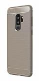 Eiroo Carbon Shield Samsung Galaxy S9 Plus Ultra Koruma Gri Kılıf