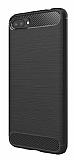 Eiroo Carbon Shield Asus Zenfone 4 Max ZC554KL Ultra Koruma Siyah Kılıf
