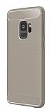 Eiroo Carbon Shield Samsung Galaxy S9 Ultra Koruma Gri Kılıf