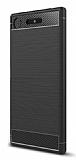 Eiroo Carbon Shield Sony Xperia XZ1 Süper Koruma Siyah Kılıf