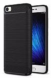 Eiroo Carbon Shield Xiaomi Mi 5 Süper Koruma Siyah Kılıf
