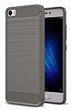 Eiroo Carbon Shield Xiaomi Mi 5 Ultra Koruma Dark Silver Kılıf